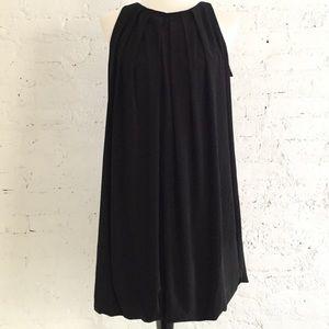 NWT ABS Allen Schwartz black loose fit dress